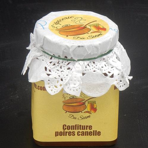 Confiture de poires et cannelle 240 g