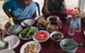 repas typique thailandais pour un mariage thai