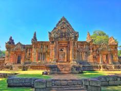 Porte d'entrée du mueang tam en Isan