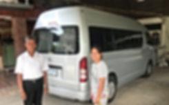 Minibus pour les excursions en  Isaan de Terre du Siamn