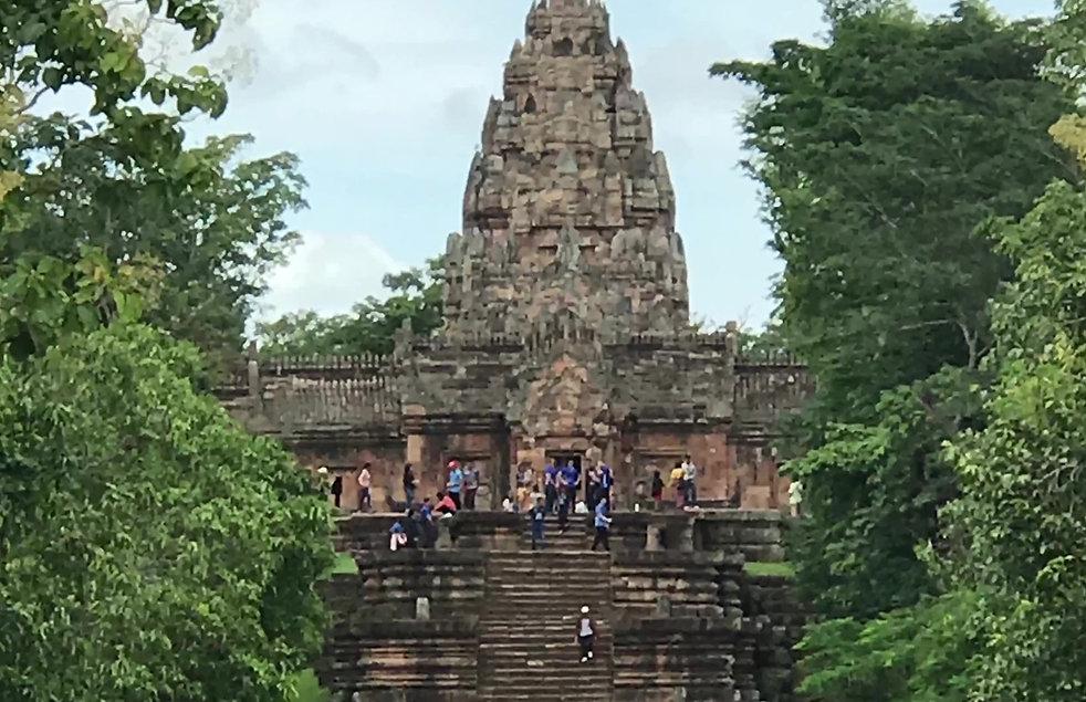 les temple khmers Surin Thaïlande Isaan. Terre du  Siam voyage