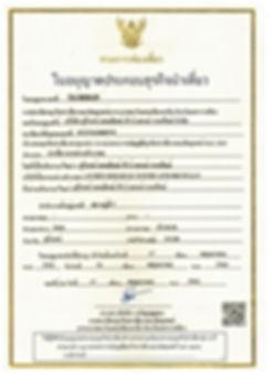 licence touristique TAT terre du Siam voyage