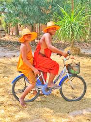 Moines à vélo