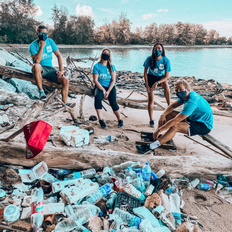 SEVEN CLEAN SEAS X THE CONSCIOUS TWO MINUTE CLEAN UP