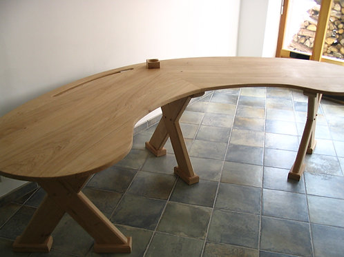 Curved organic Desk, MADE TO ORDER See details