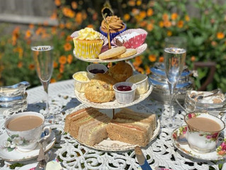 New! Afternoon teas delivered to your door!