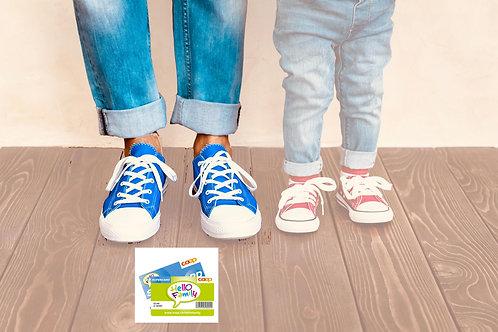 Erwachsener mit Coop Supercard / Hello Family Rabatt
