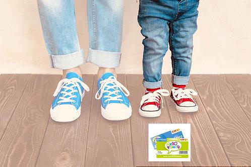 Kind mit Coop Supercard / Hello Family Rabatt