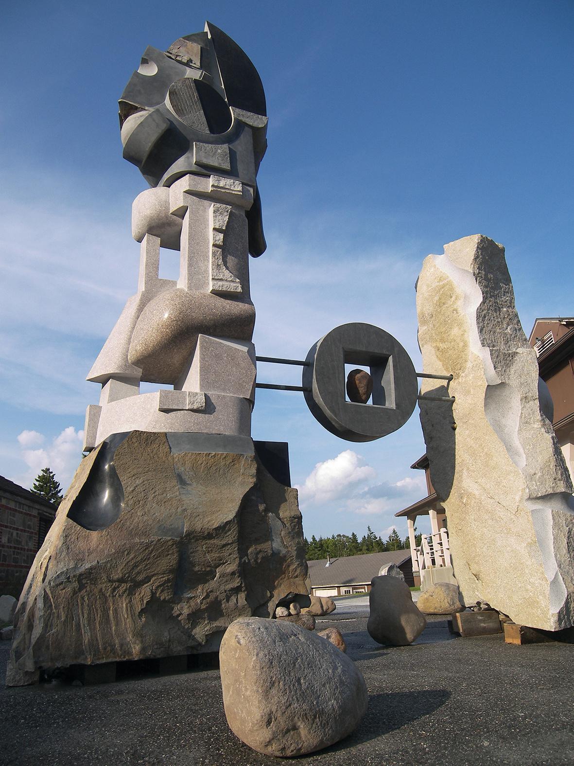 The Islands of Maine, granite,  basalt a