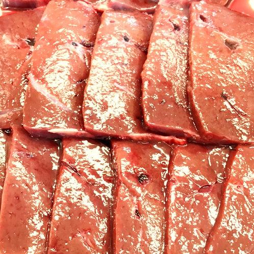 牛レバー焼き肉用(オーストラリア産)100g