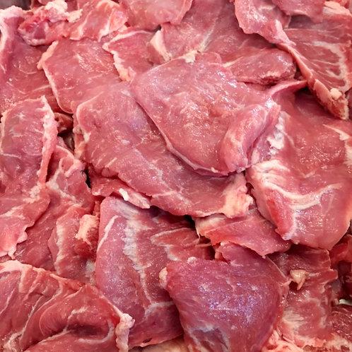 豚かしら焼き肉用(国内産)100g