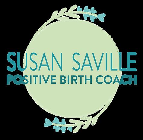 Logo_Susan Saville Positive Birth Coach_
