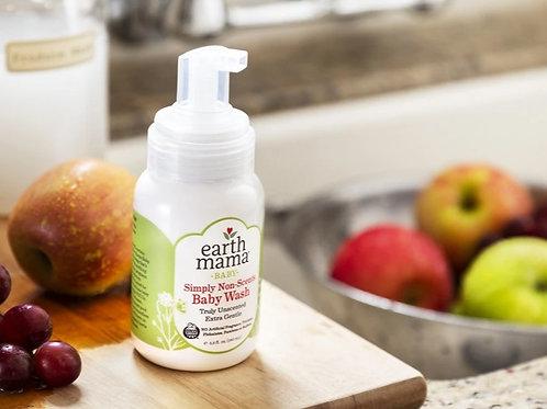 Earth mama non scents baby wash