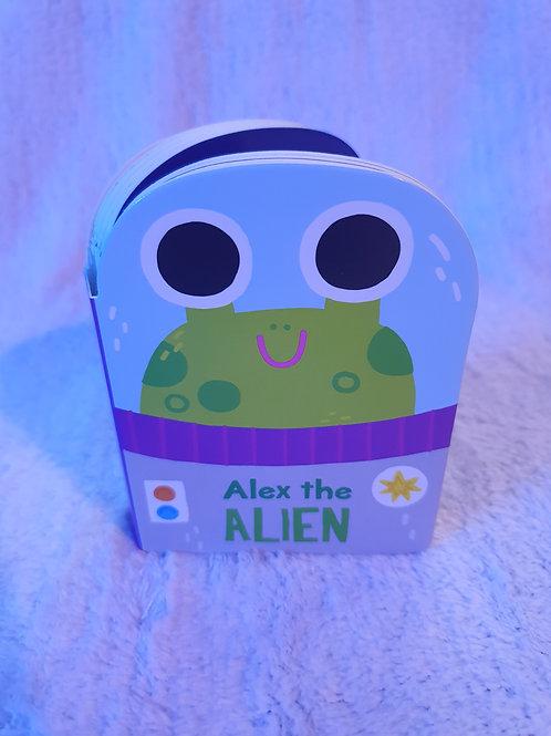 Alex the Alien card book