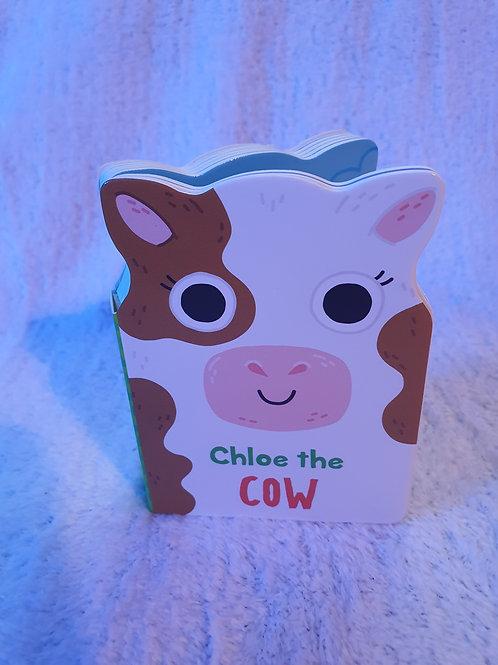 Chloe the cow card book
