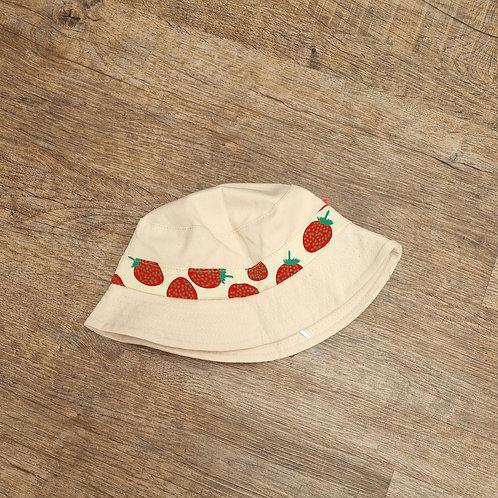 Strawberry belt bucket hat