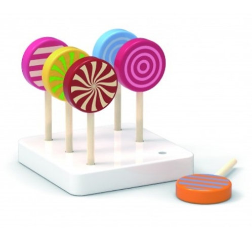 Wooden lollipop set
