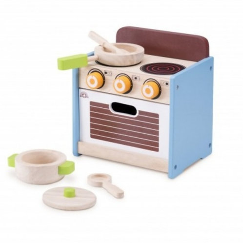 Wooden little stove and oven