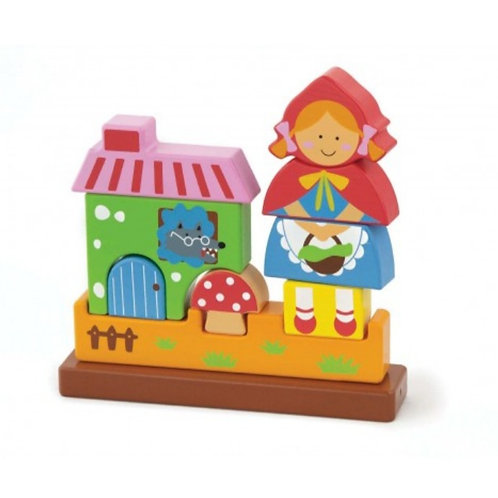 3D Red riding hood magnetic puzzle