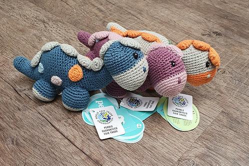 Dinosaur rattles