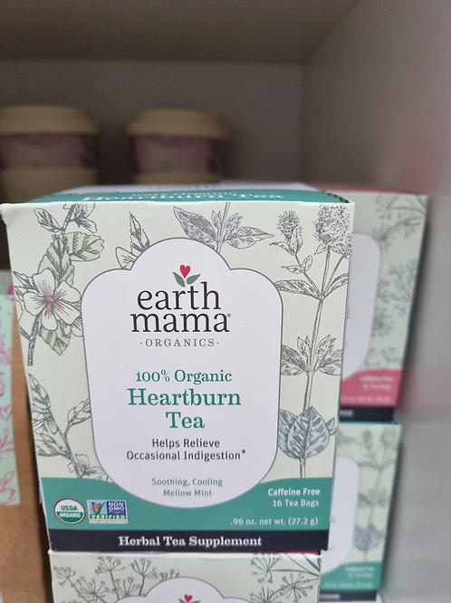 Earth Mama 100% organic heartburn herbal tea