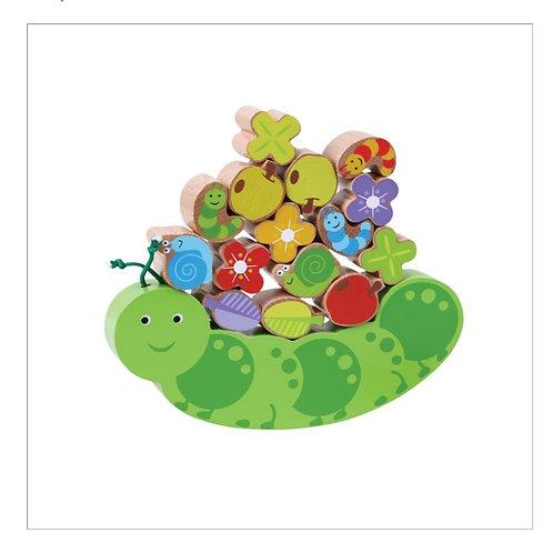 Caterpilla animal balancing game