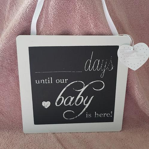 ....Baby Due plaque