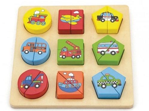 Vehicle block puzzle