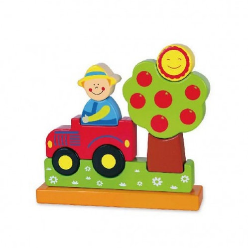 3D farmer magnetic puzzle