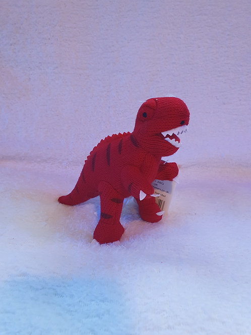 small T Rex dinosaur rattle