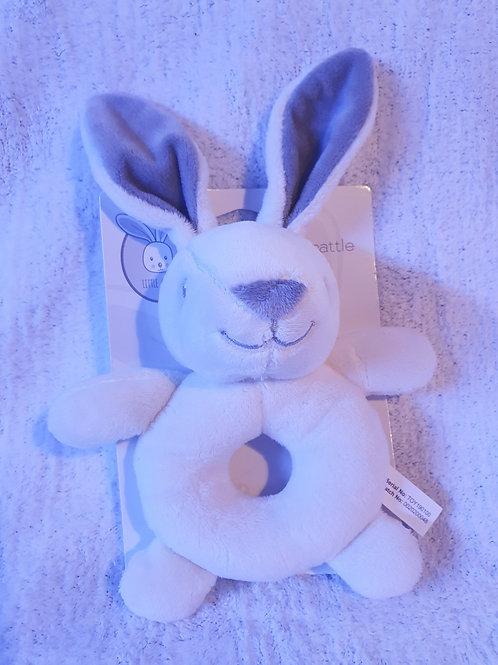 Plush Rabbit rattle