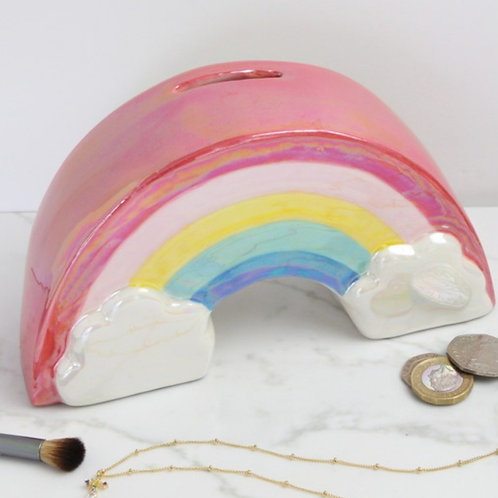 Rainbow moneybox