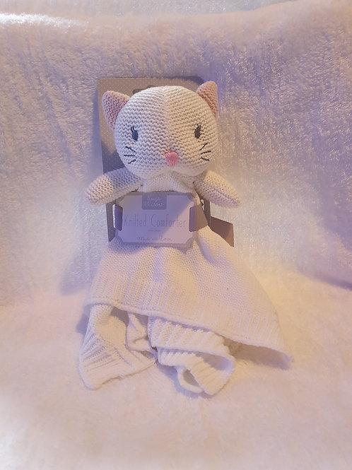knitted Kitten Comforter