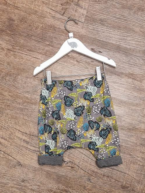 Cheeta print trousers