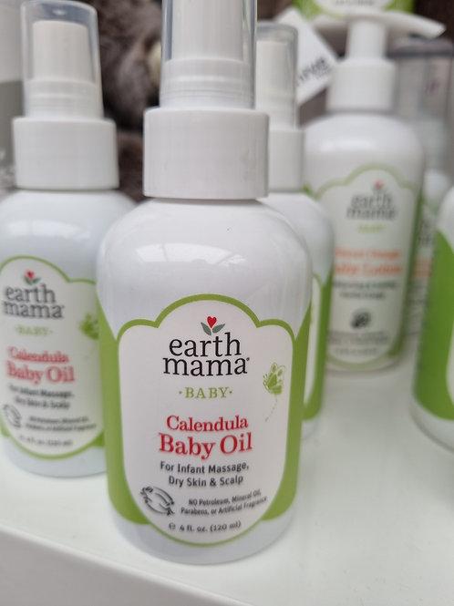 Earth Mama ORGANIC baby oil