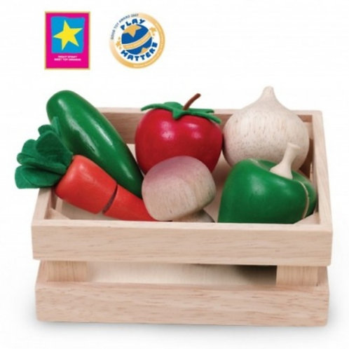 Wooden vegetable box