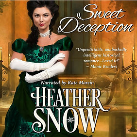 Sweet Deception audio book cover middle.