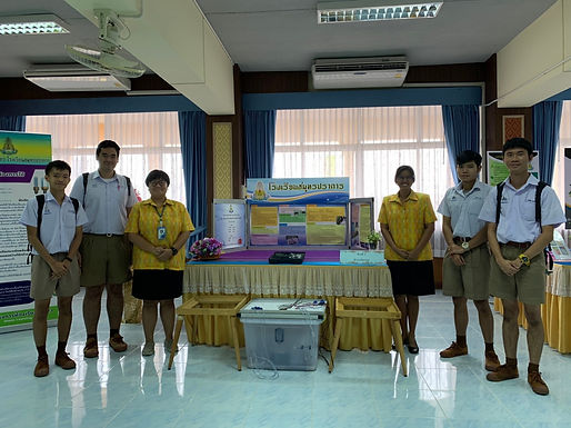 รับการประเมินโรงเรียนนวัตกรรมสิ่งแวดล้อม Ennovation school