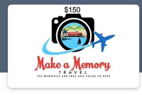 $150.00-Honeymoon Gift Certificate