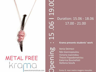 krama presents students' work