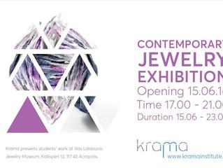 Kramastudents' exhibition atIlias Lalaounis Jewelry Museum!