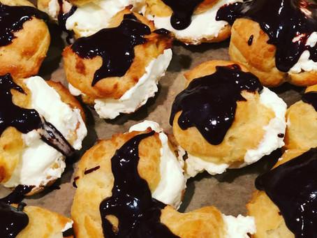 Cream Puffs (Profiteroles)