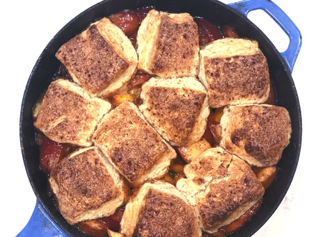 Breakfast Peach (or Apple) Cobbler