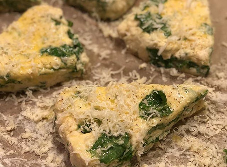 KALE AND CHEESE SCONES