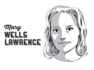 Mary Wells Lawrence, a reklámszakma stílusos nagyasszonya