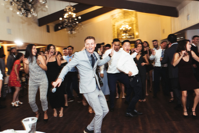 Wedding DJ Aaron Free from BLVD ENT - A Los Angeles based company providing DJs, Photo Booths, Lighting and Video services.