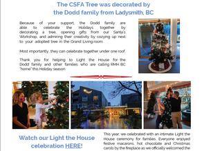 四川同乡总会连续第三年为RMH福利院装扮圣诞树献爱心