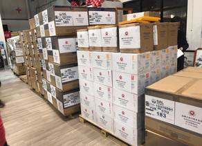 加拿大四川同乡总会向四川捐赠医用物资