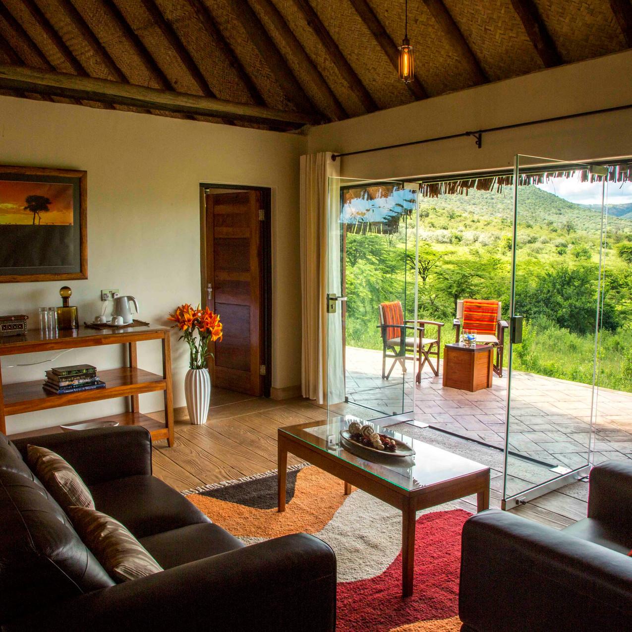 Spirit of the Masai Mara - Living area
