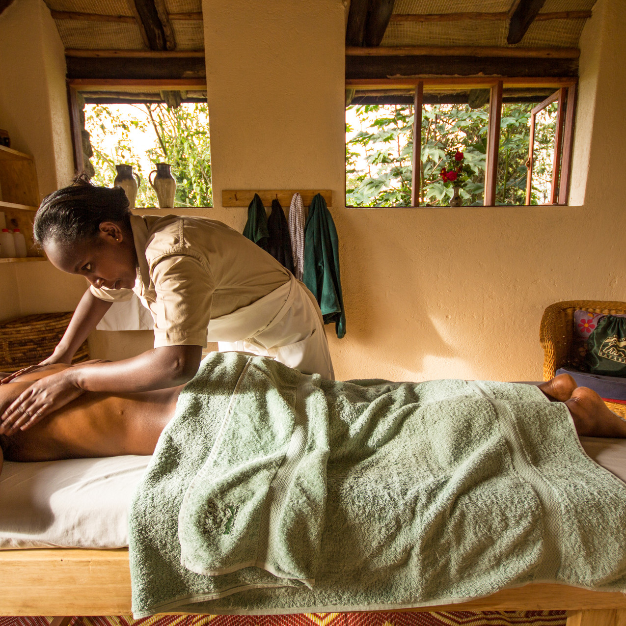 Virunga_massage room